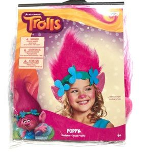 New Trolls Poppy Headpiece Dreamworks Disguise